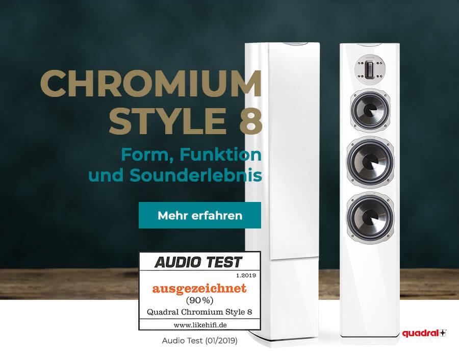 Quadral Chromium Style 8 kaufen