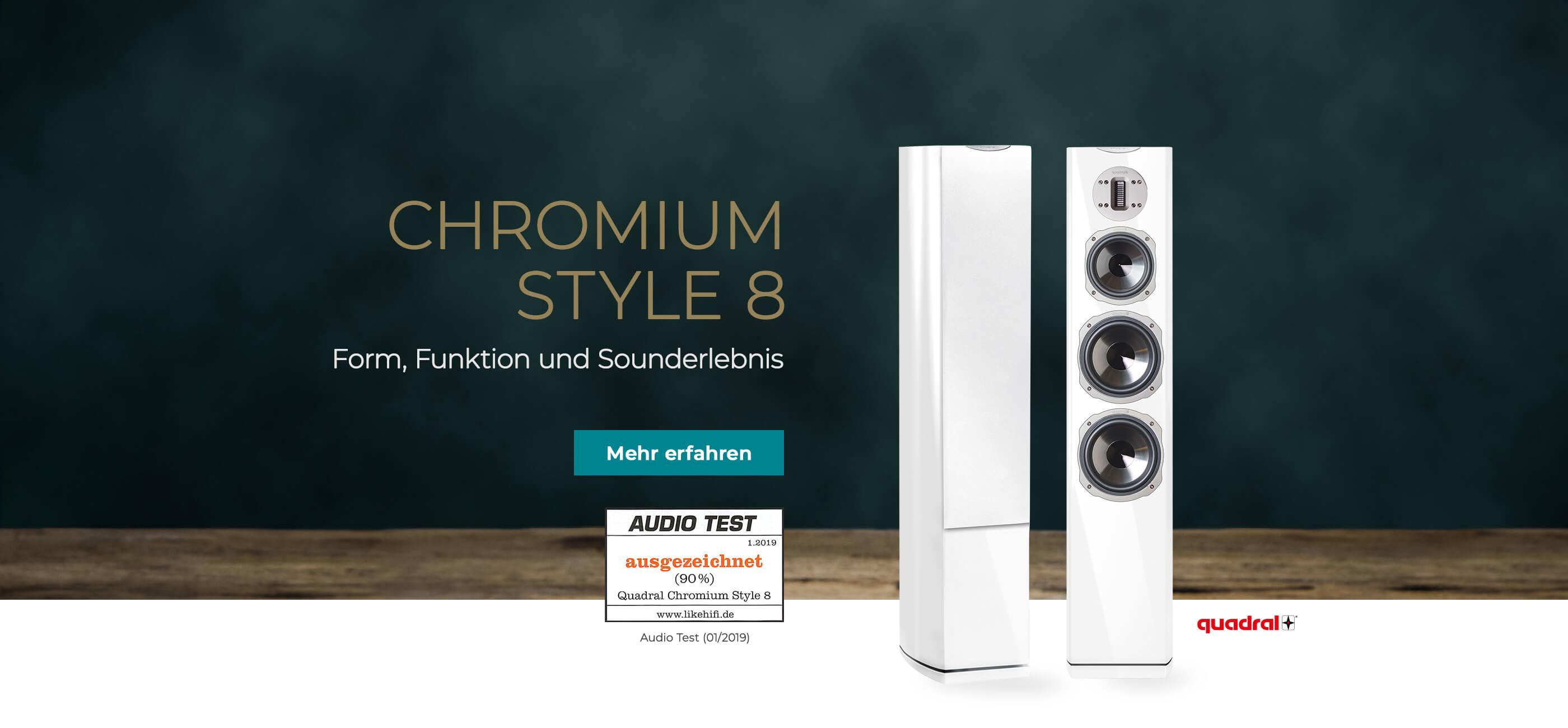 Quadral Chromium kaufen